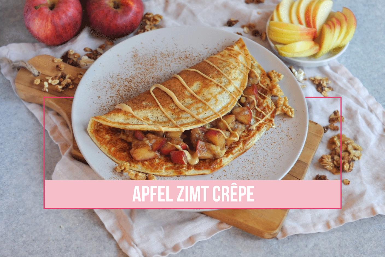 Apfel Zimt Crêpes