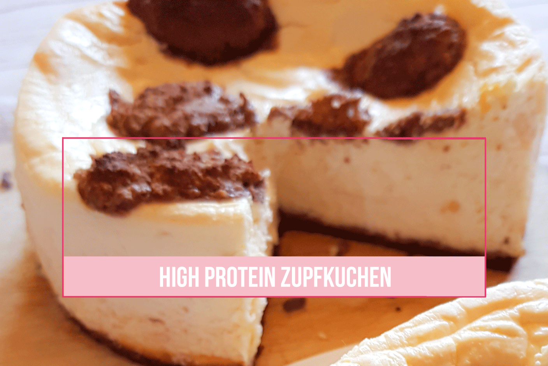 High Protein Zupfkuchen